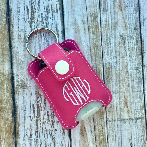 Custom Airpod Case Keychain With Monogram Also Fits 1oz Hand