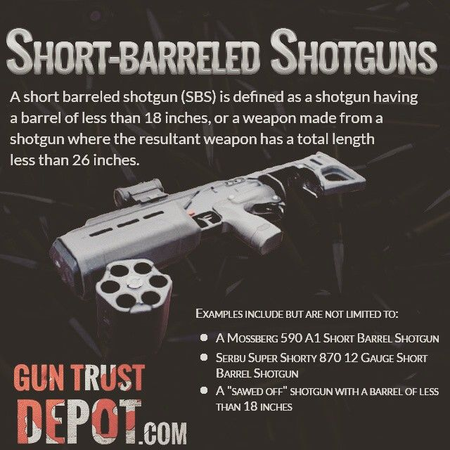 guntrustdepot NFA Short-Barreled #nra #itsmyright #progun #gunsafety #2a #firearms #gunporn  If you are interested check our NFA Legality Page: https://guntrustdepot.com/NFA-Trust/NfaFirearmsLegality to make sure these weapons are legal in your state.  NFA gun trusts allow you to safely and conveniently own firearms regulated by the National Firearms Act such as Short-Barreled Shotguns. Our simple process will guide you step-by-step.  https://guntrustdepot.com