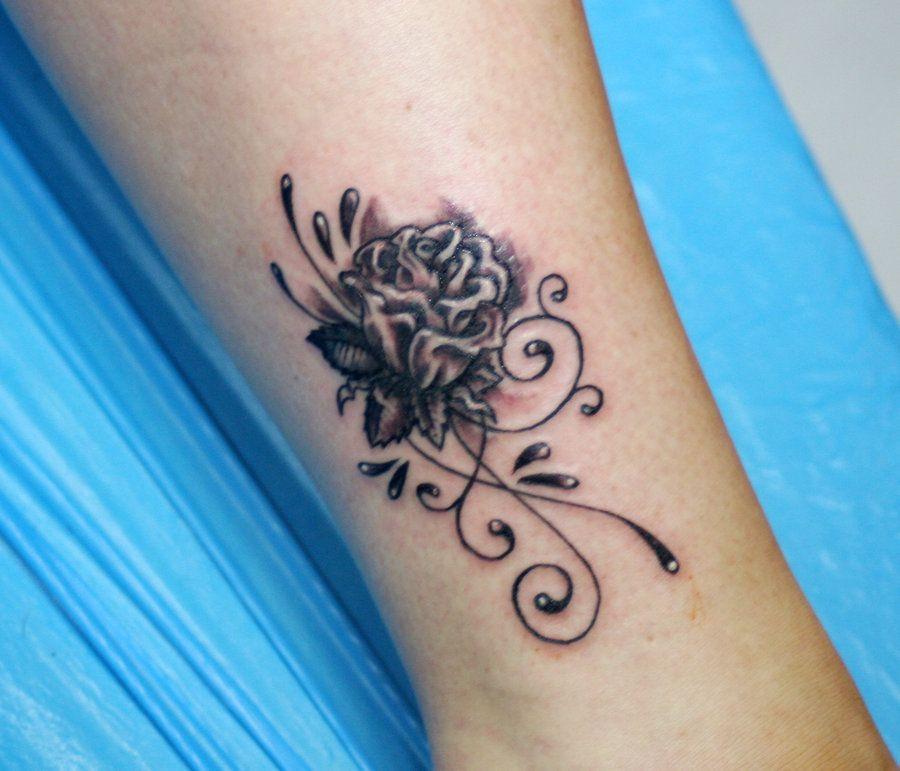 black rose by inKCrazy on DeviantArt