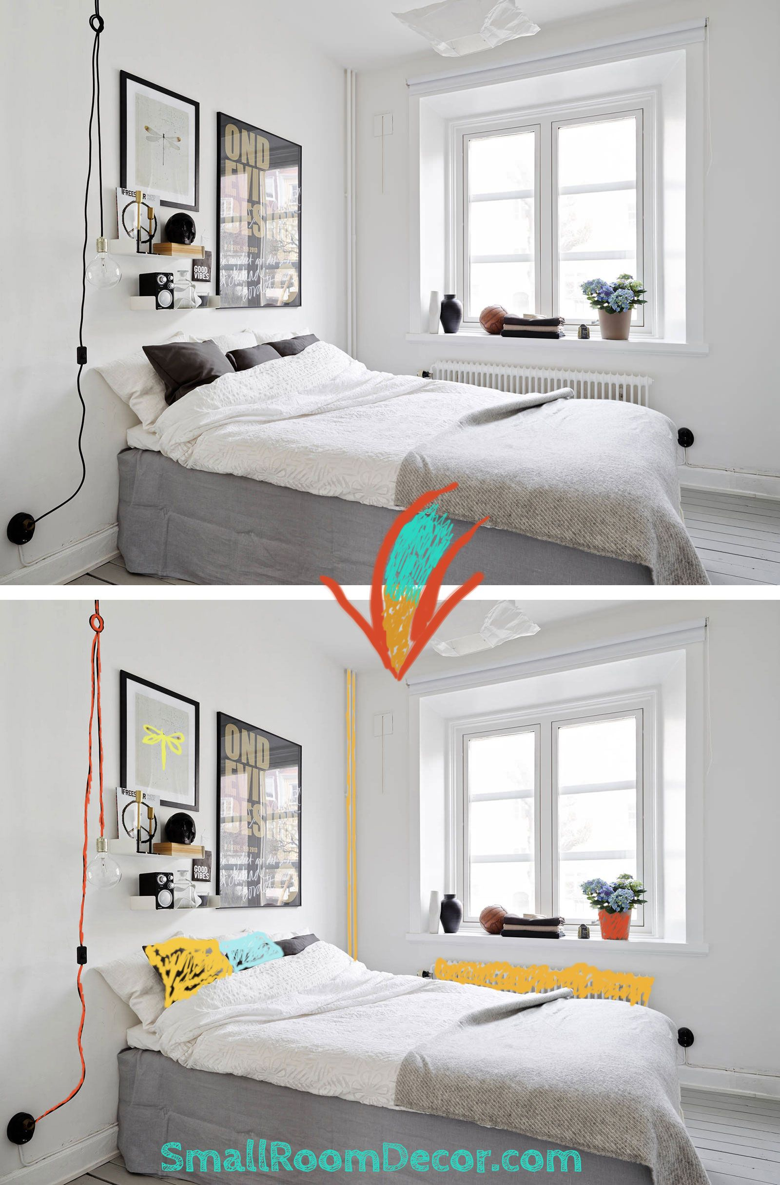 small white bedroom ideas