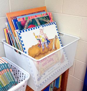 Organizing Your Classroom Simply Kinder Big Book Storage
