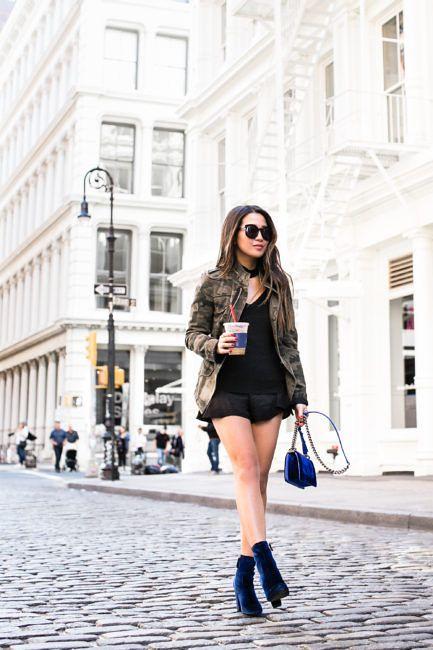 5234a830571 Sapphire Dream    Chanel velvet boy   Velvet boots    Outfit    Top