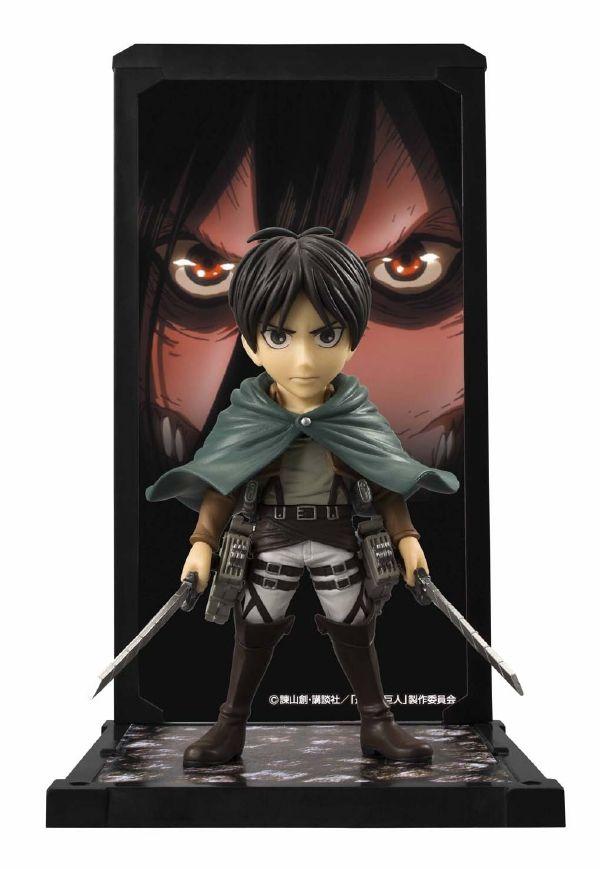 #transformer ko tamashii buddies attack on titan: eren jaeger [figure] by bandai