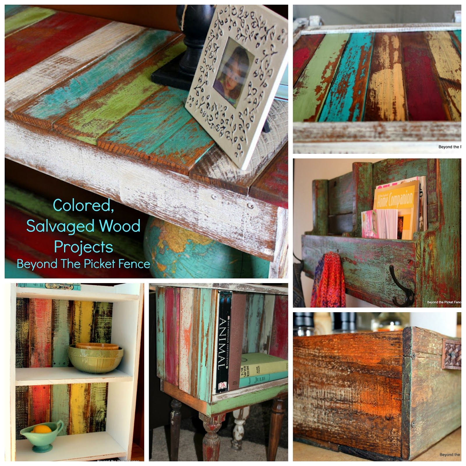 Tasty Colorful Wood Cravings Beyond The Picket Fence
