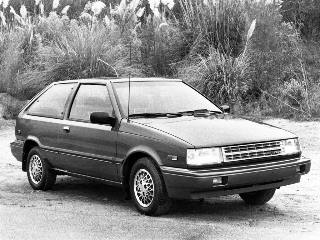 Hyundai Excel 3 Door North America X1 1987 89 Hyundai New Cars Hatchback