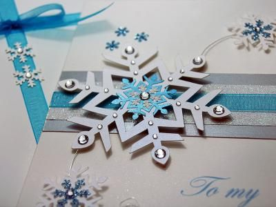 Luxury Handmade Christmas Card | Card Making Ideas | Pinterest ...