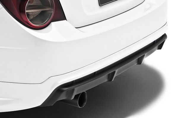 3d Carbon 691986 Chevy Sonic Rear Bumper Cover Diffuser Lower Car Body Kit Ebay Chevy Sonic Body Kit Chevy