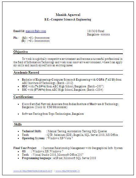 Sample Template Example Of Beautiful Excellent Professional Curriculum Vitae Resume Cv Format With Download Resume Curriculum Vitae Resume Cv Resume Sample