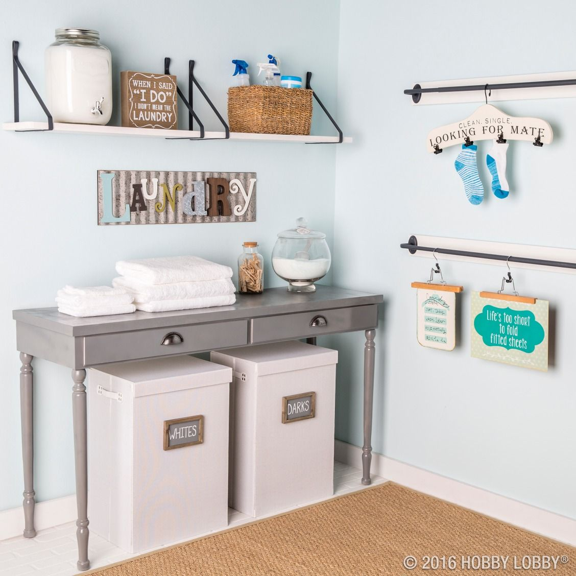 Give Your Laundry Room Some Love With Fun And Functional Decor
