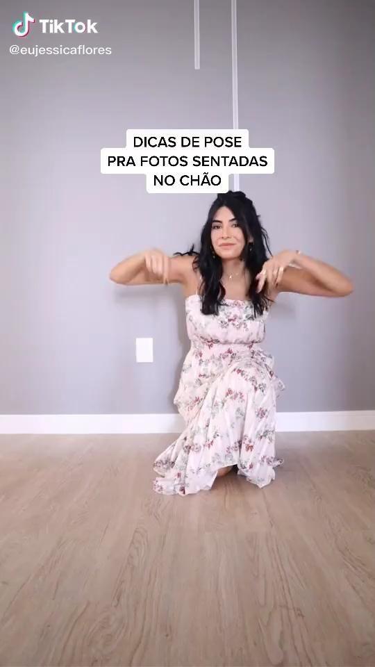 Dicas de pose sentadas no chão!   Mais dicas no Instagram @jessicaflores.  #dicas #poses #posesparafotos #posesparafotografía #instagram #story #stories #storiesinstagram