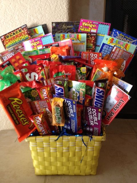Candy And Lottery Tickets Candy Bouquets And More