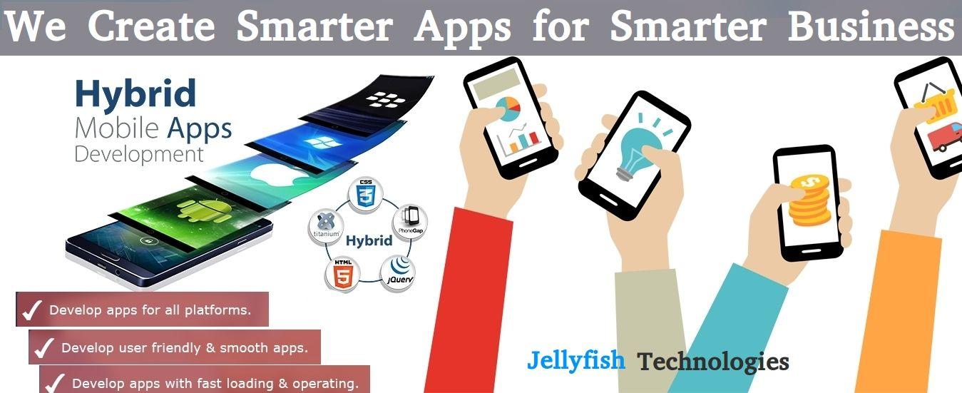 Best iOS & Hybrid App Development Company in India Jellyfish