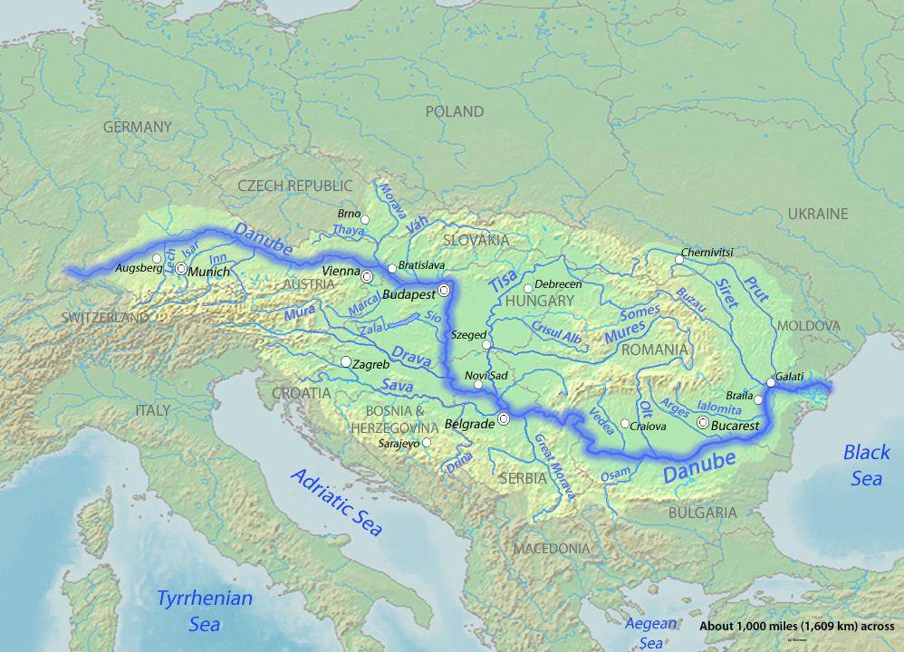 Danube - Wikipedia, the free encyclopedia | THE DANUBE RIVER