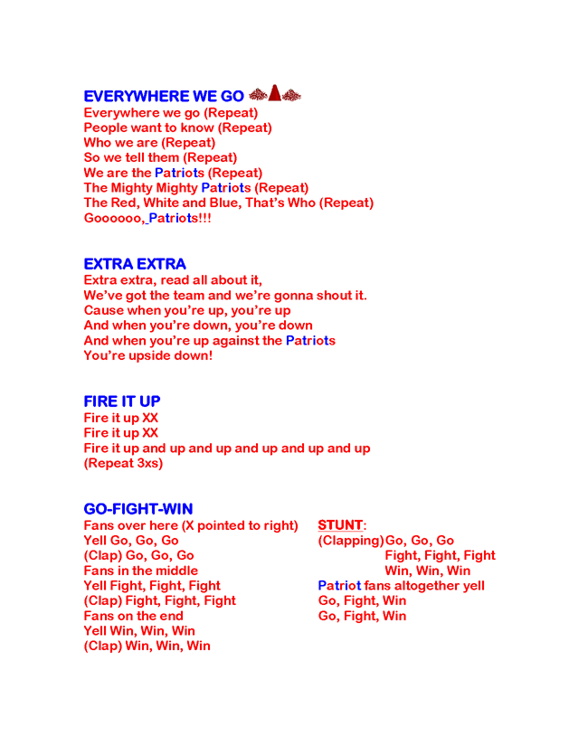 Lyric high school fight song lyrics : cheerleading cheers and chants for football - Google Search ...