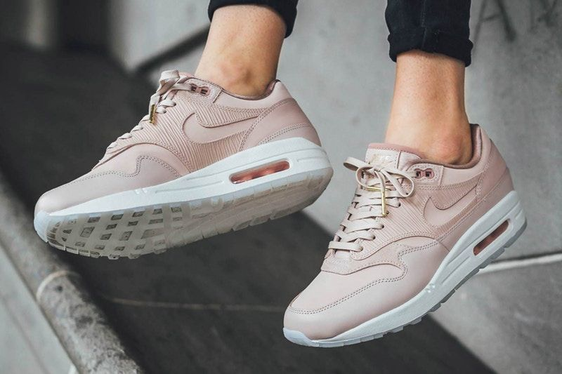 d8a03216d634 Nike s Air Max 1 Premium Is the Perfect Peachy Nude