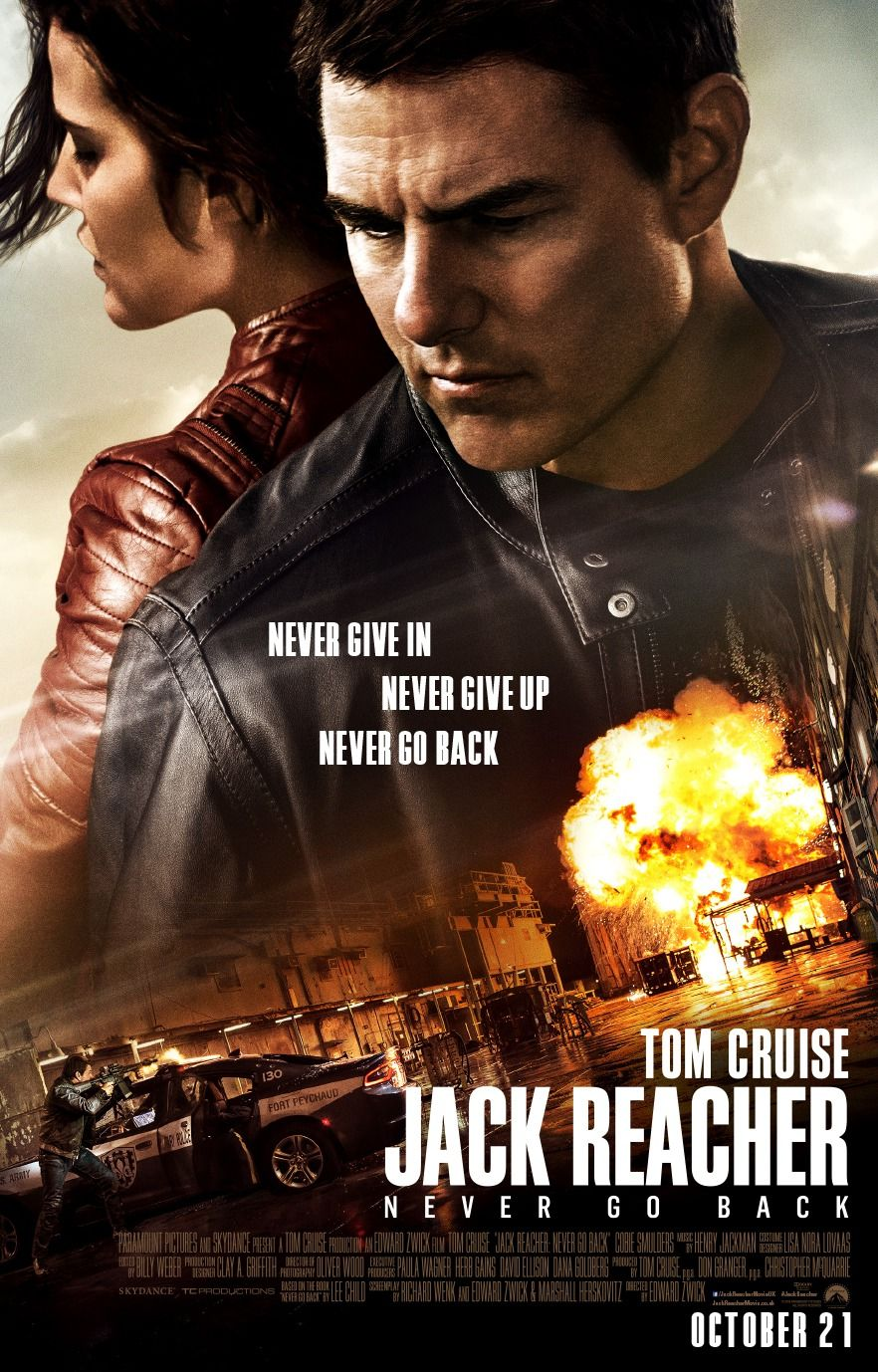 Laura steele tom griswold wedding - Jack Reacher Never Go Back Is De Nieuwe Actie Thriller Met Tom Cruise Mission Impossible Franchise Edge Of Tomorrow Van Regisseur Edward Zwick The Last