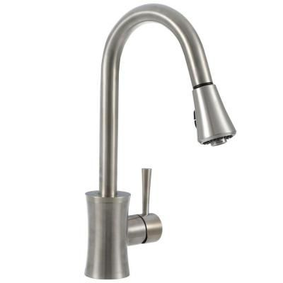 Pegasus Luca Single-Handle Pull-Down Sprayer Kitchen Faucet in ...