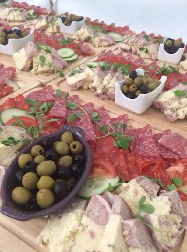 Antipasto Sharing Platter Lovely Starter For Engaging Guests At