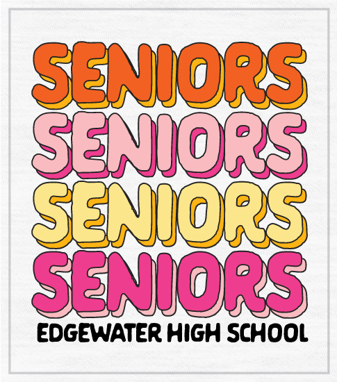 1314 Senior Girls Fashion Class Shirt | High School Shirts