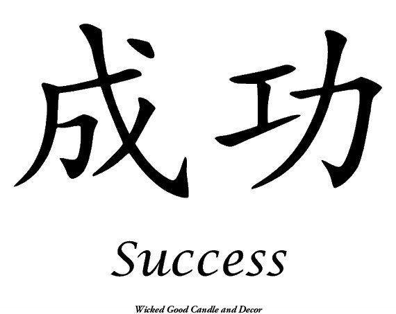 Chinesische Schrift Tattoo