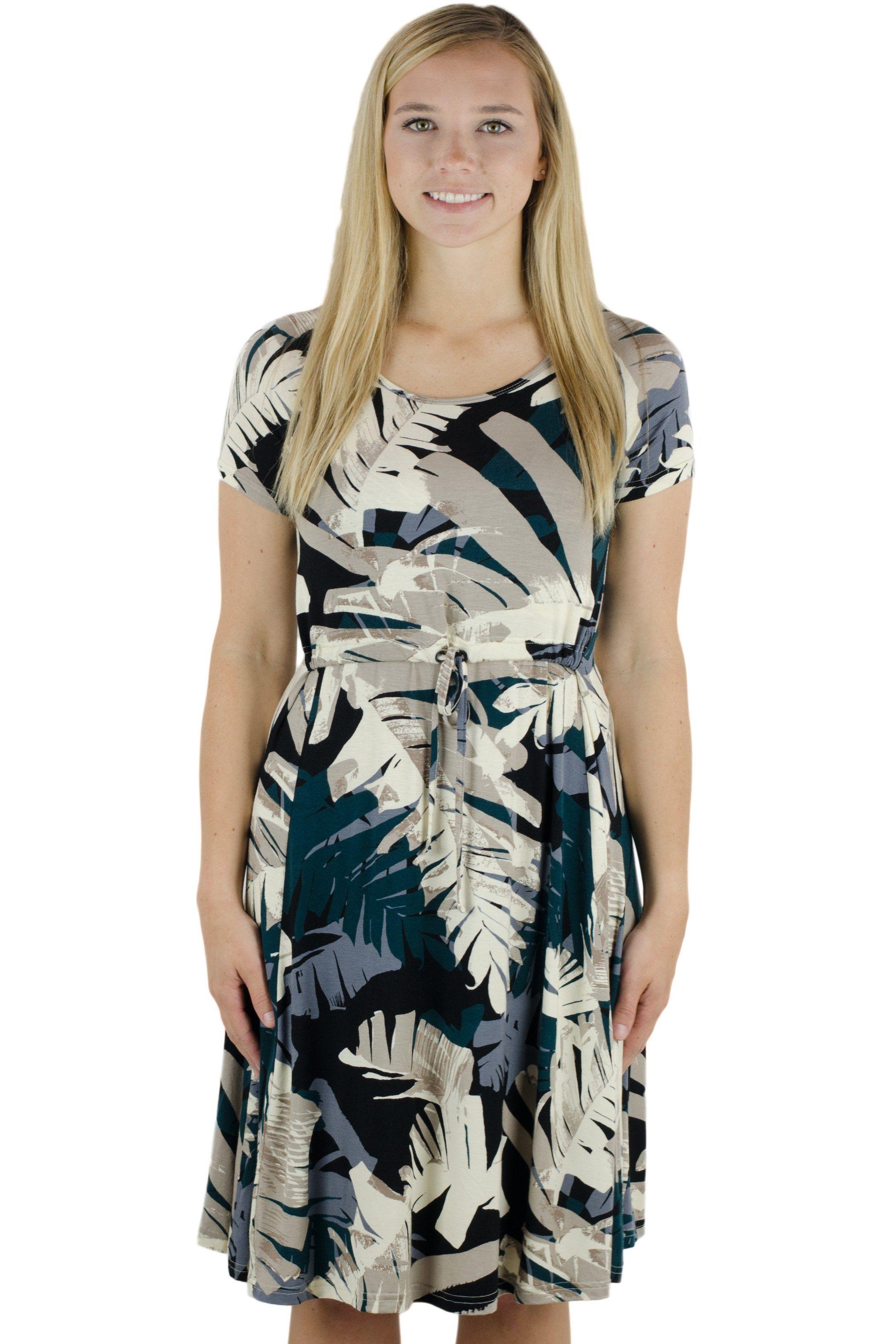 07505320f9dba Drawstring T-Shirt Nursing Dress   Products   Nursing dress, Dresses ...