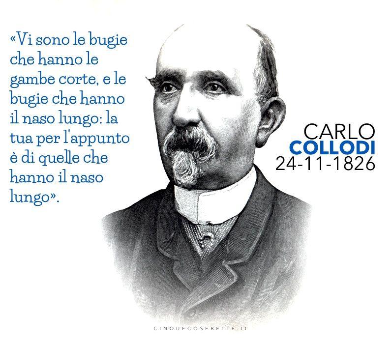 188 anni dalla nascita di Carlo Collodi