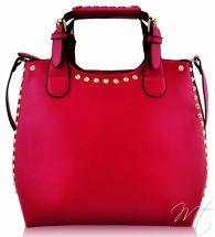 Damska fuchsia kabelka #bags #fashion