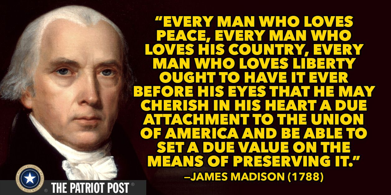 James Madison James Madison Life Quotes Peace And Love
