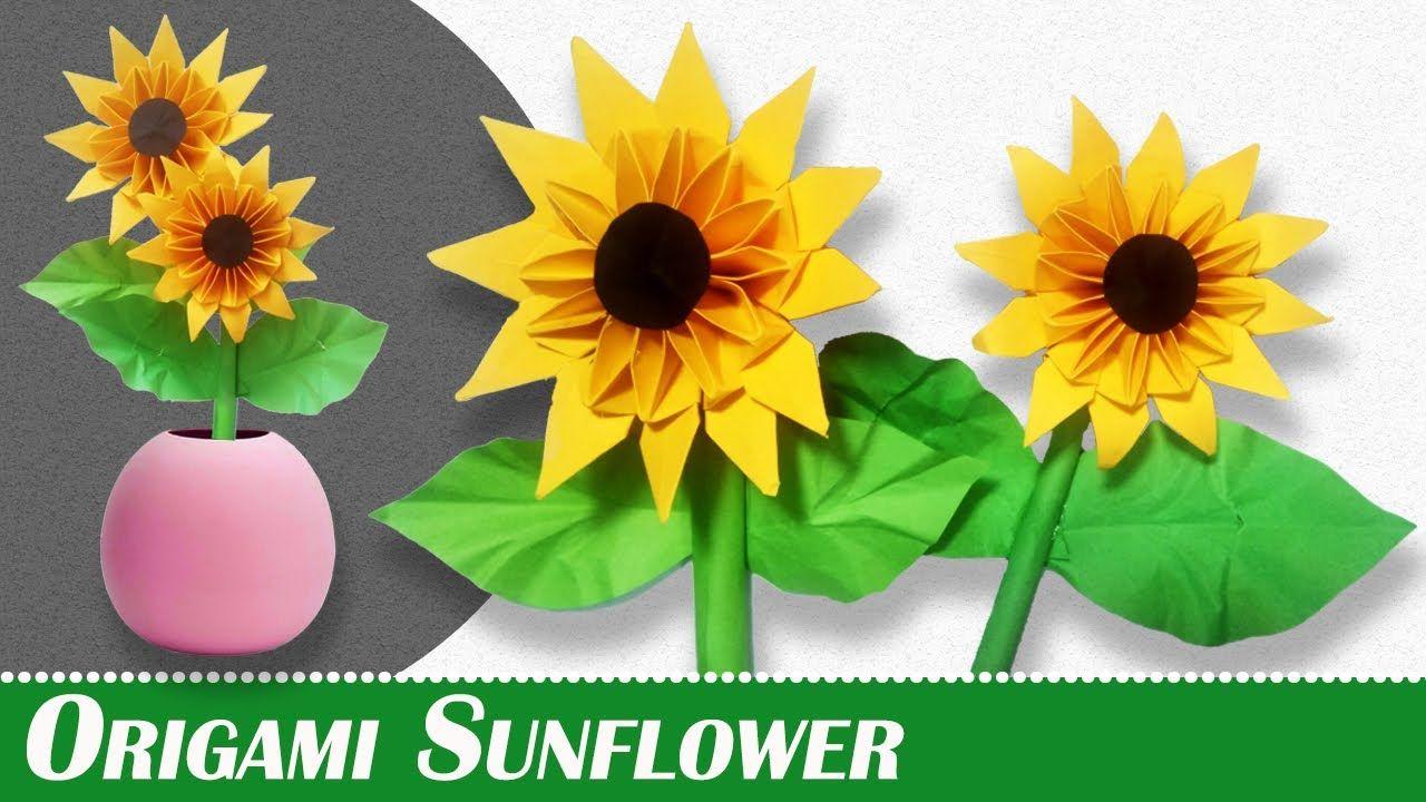 Photo of Origami Sonnenblume – Schritt für Schritt einfach Origami Sonnenblume für Kinder