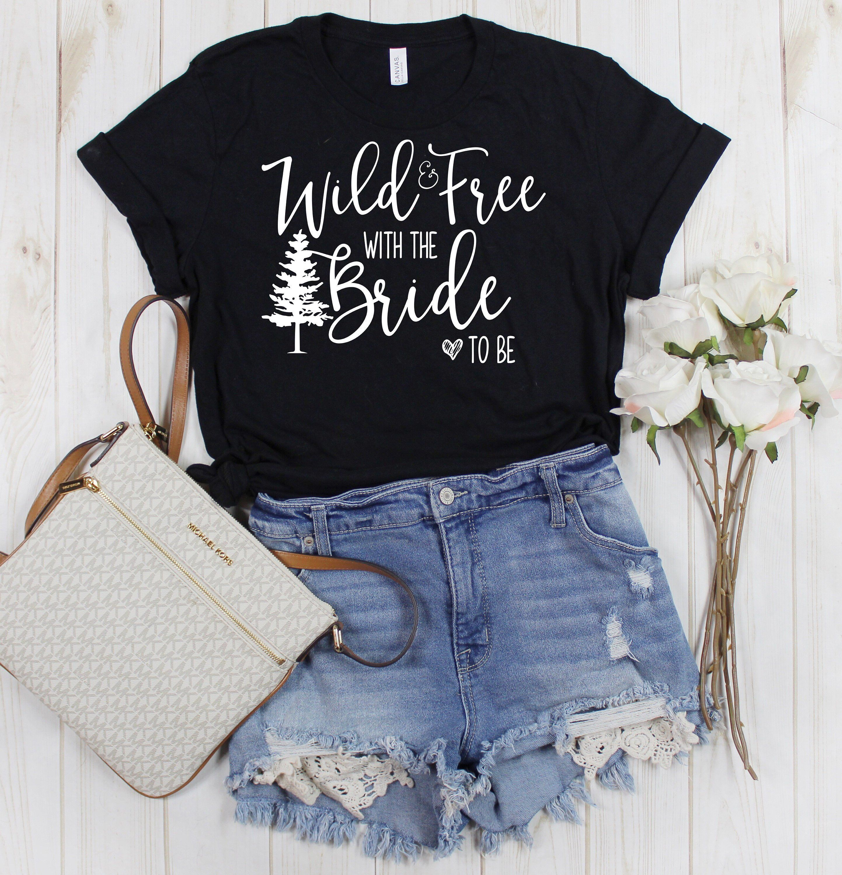 Mountain Bachelorette Party Shirt Group T Shirts For Bride