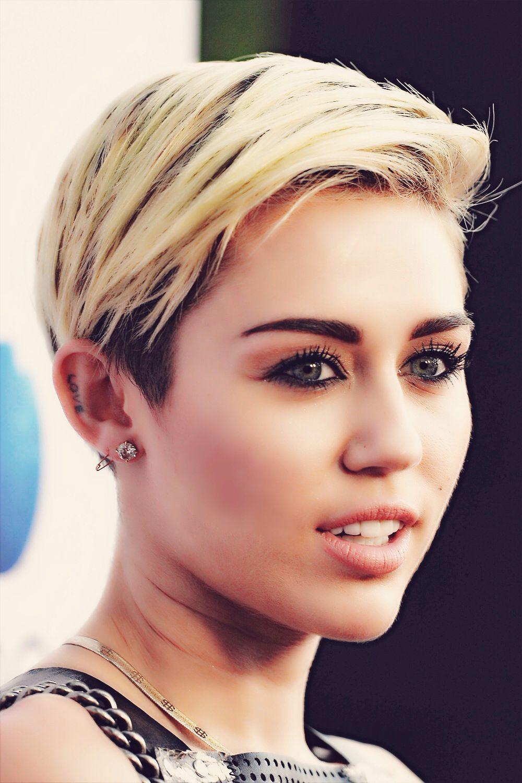 Miley Cyrus Miley Cyrus Hair Miley Cyrus Short Hair Styles