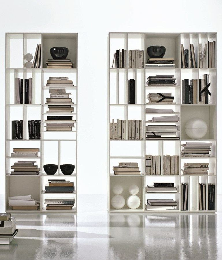 Open Double Sided Divider Bookcase LOGICA By CIACCI GROUP Ciaccigroup