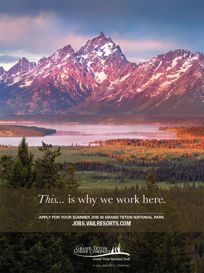Grand Teton Lodge Company And Headwaters Lodge/Cabins At Flagg Ranch   Now  Hiring For Summer 2018 Season! Have Your Experience Of A Lifetime In Grand  Teton ...