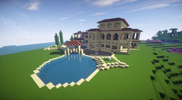 400+ Gambar Contoh Rumah Di Minecraft Gratis Terbaik