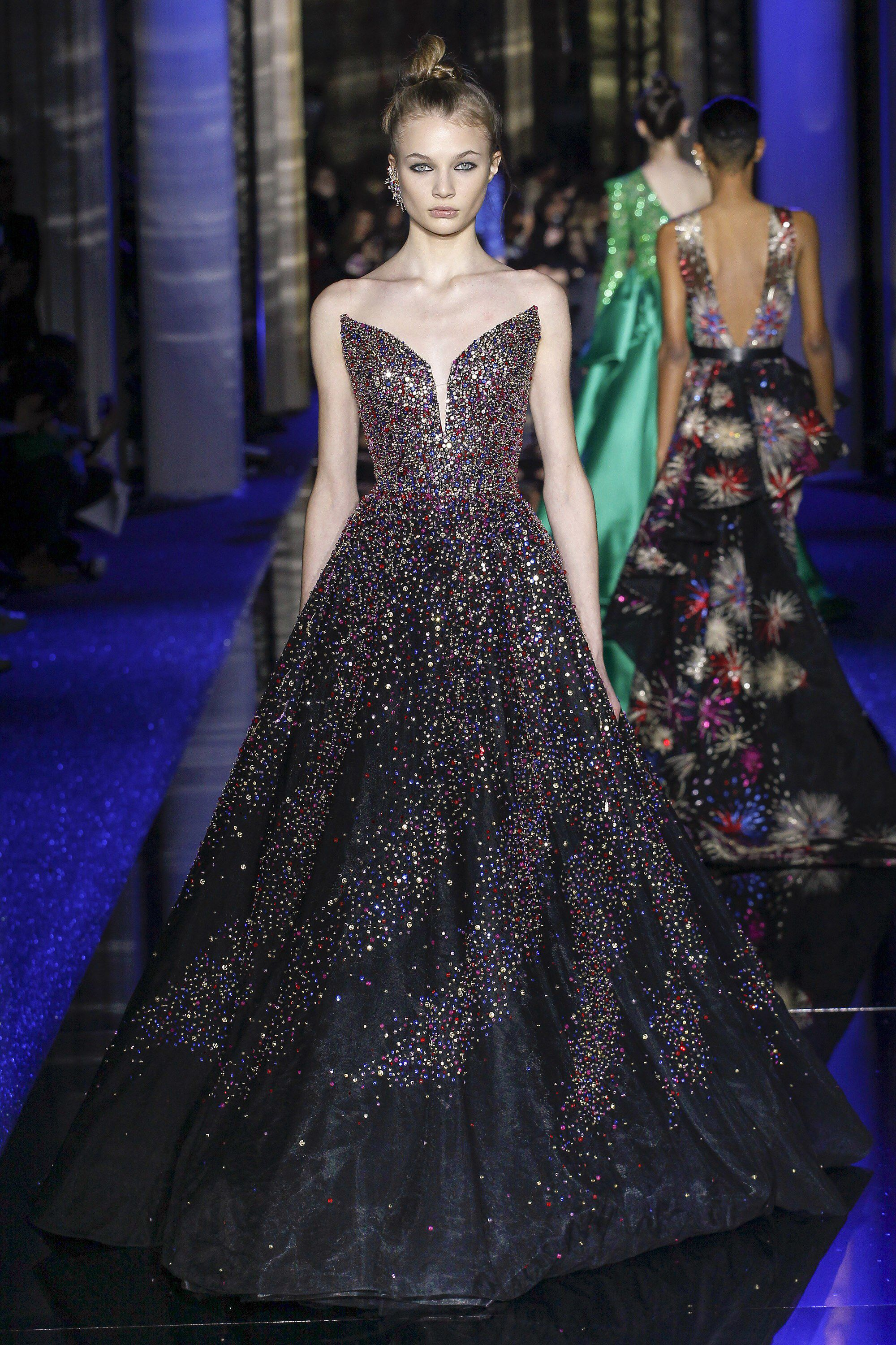Zuhair Murad Spring 2017 Couture Fashion Show | Glam Gowns ...