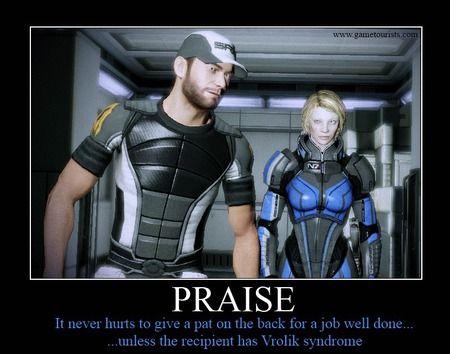 mass effect, praise,