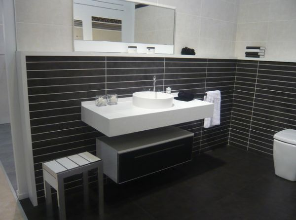 floating sinks bathroom - Google Search Ideas para el piso - Design Bathroom