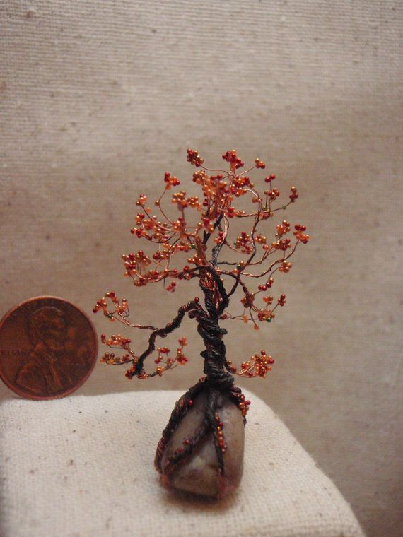 Tiny Copper Wire Tree - DATA WIRING •