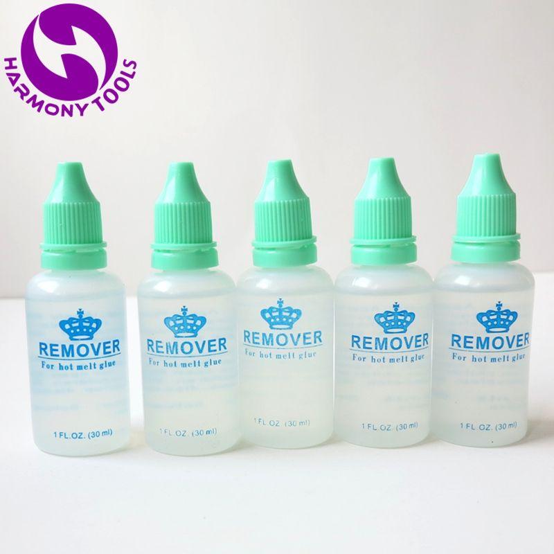 Harmony 144 Bottles 1oz 30ml Hot Melt Glue Remover For Pre Bonded