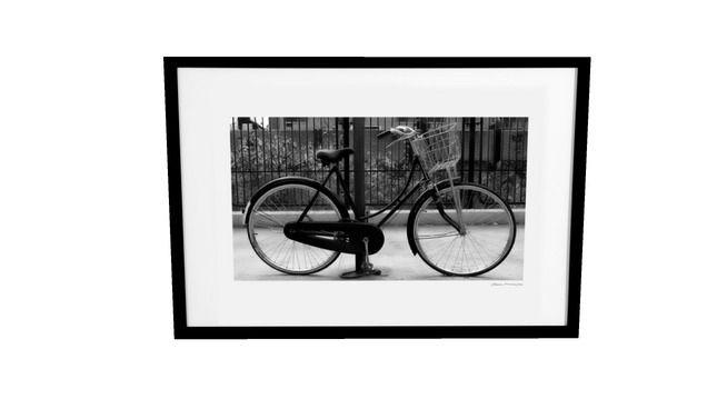 Quadro Dorival Moreira - Fotografia: New York - Bicicleta - 3D Warehouse