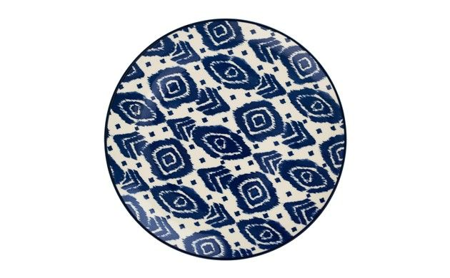 Liven up smaller dishes with this vibrant side plate with a painterly print. Visit Sainsbury\u0027s Home Ideas for inspiration today.  sc 1 st  Pinterest & by Sainsbury\u0027s Moroccan Blue Side Plate | Store:-Saintsbury\u0027s home ...