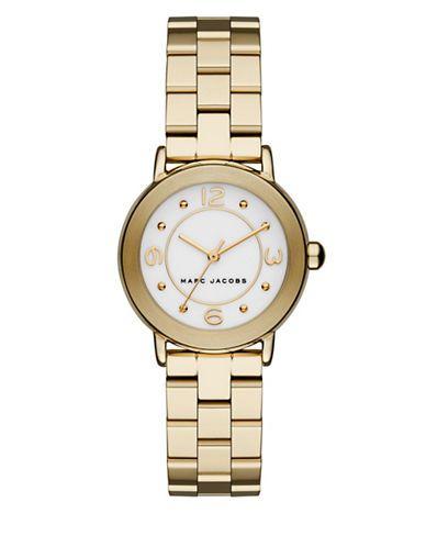 Marc Jacobs Stainless Steel Bracelet Watch, MJ3473 Women's Gold