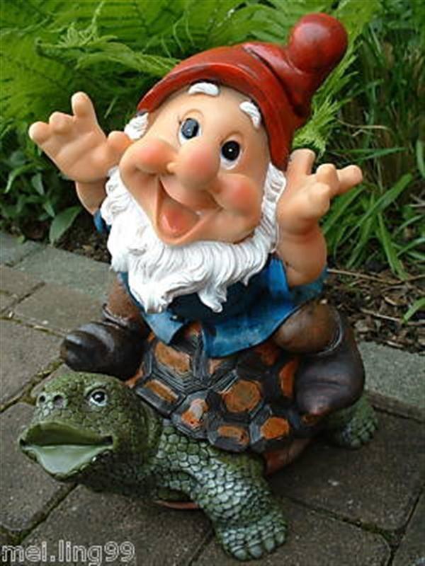 Gartenzwerg Reitet Auf Schildkrote 34cm Zwerg Gnom For Sale Eur 29 90 See Photos Money Bac Funny Garden Gnomes Garden Gnomes Statue Fairy Garden Furniture