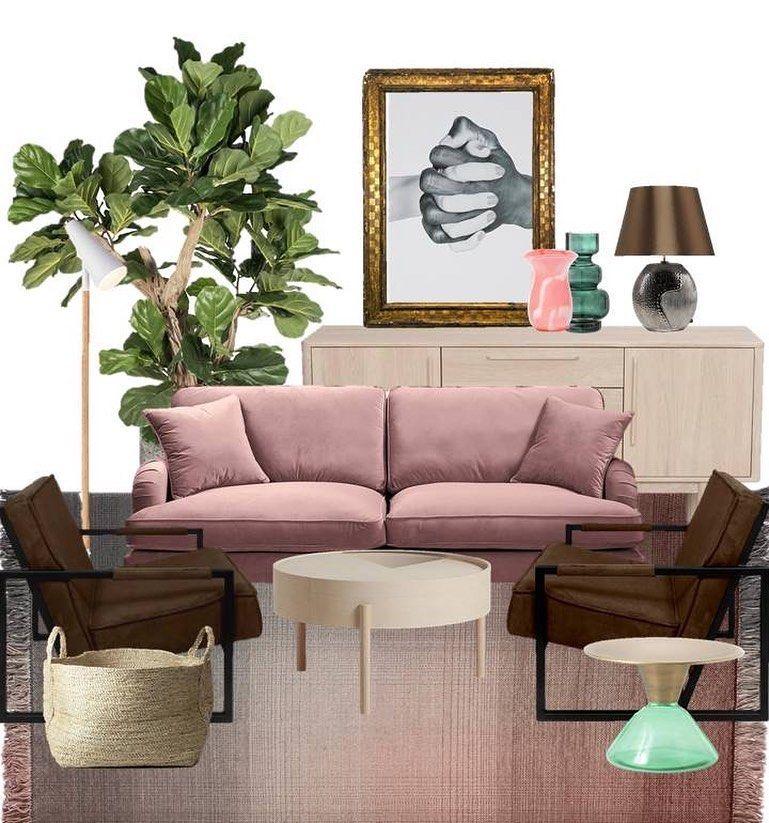 "Eleonora Tobian on Instagram: ""#interiordesign#interiors#homedesignideas#homeinspo#collage#wallart#bonbonfarben#altrosa#lakaskultura#einrichtungsideen#schönerwohnen#lakberendezes#wohnideen#pastellove"""