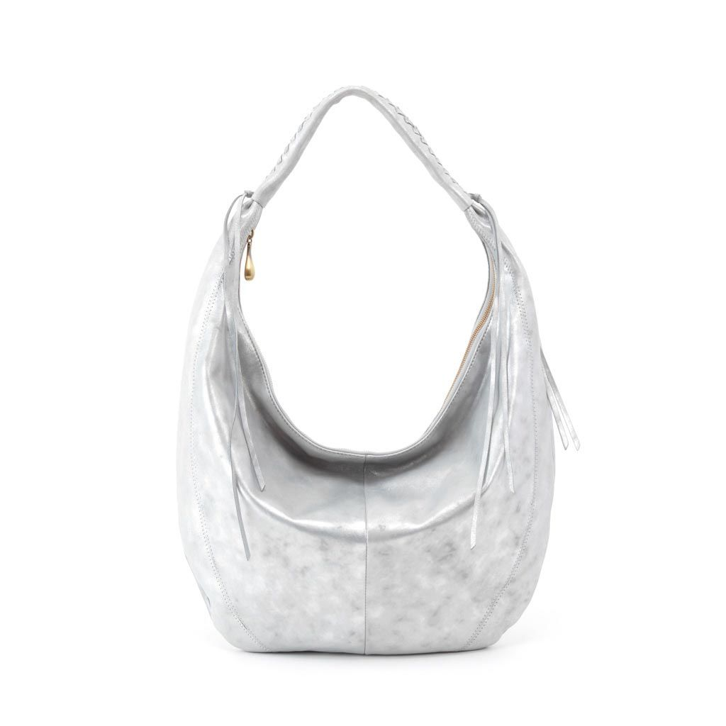 a6454ac8d11 the Kindred shoulder bag    crafted in metallic hide in Northern Lights
