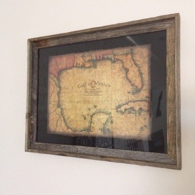 Gulf and Caribbean Map Art c. 1800, Old Maps, Cuba, Florida Maps, Yucatan, Mexico, Gulf of Mexico, Nautical Maps, Parchment, Savannah, Keys