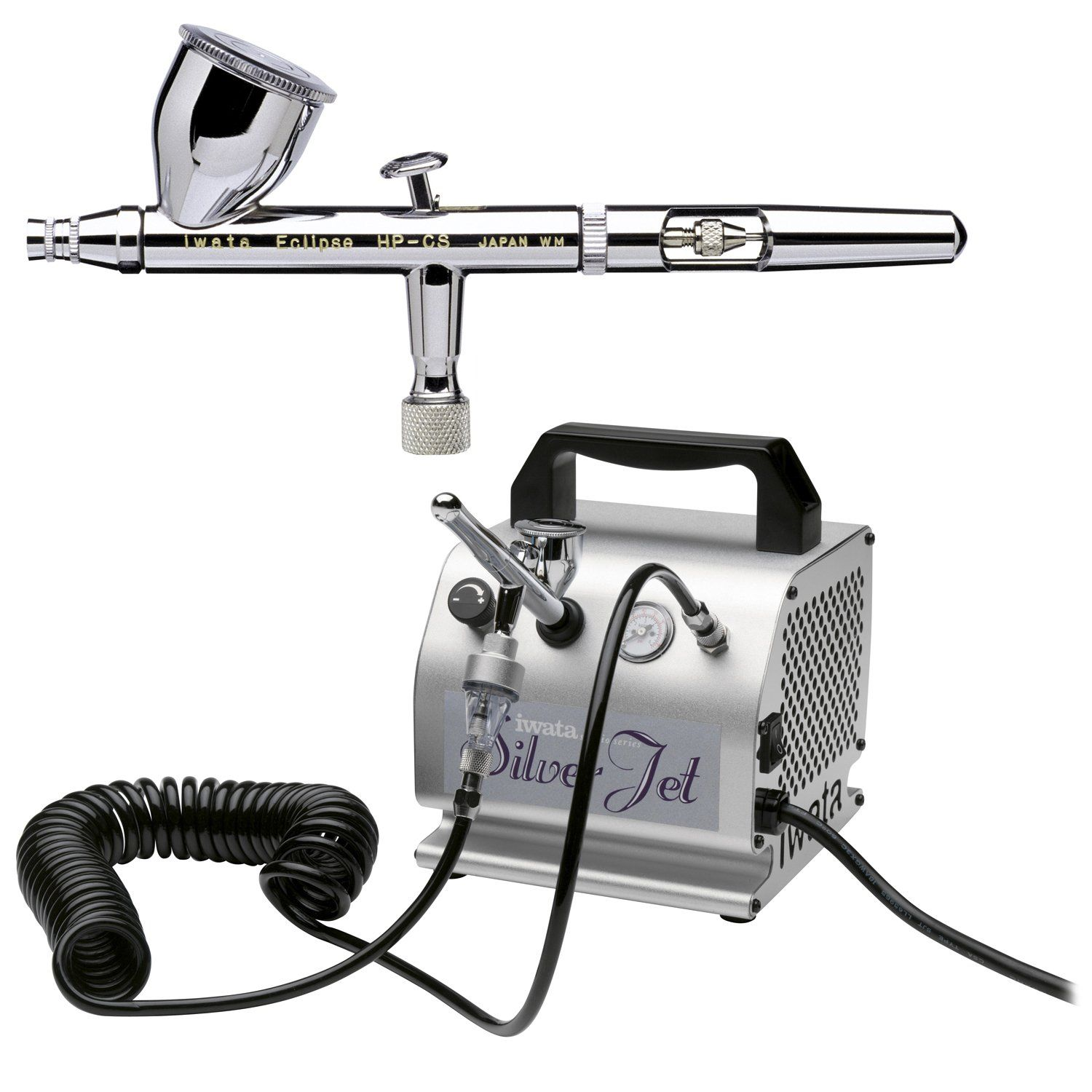 Iwata Eclipse HPCS Airbrushing System with