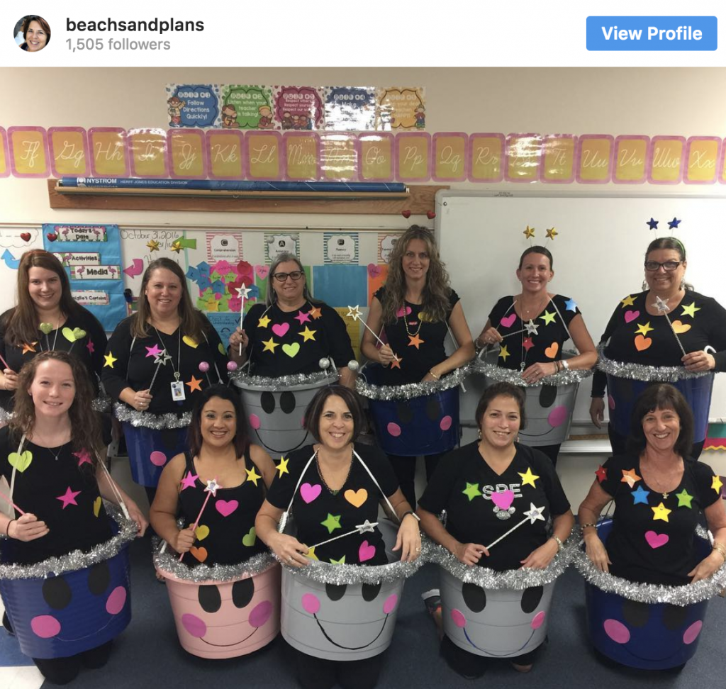 27 Awesome Teacher Group Costume Ideas Laughing Kids Learn Teacher Halloween Costumes Group Costumes Teacher Halloween Costumes Group