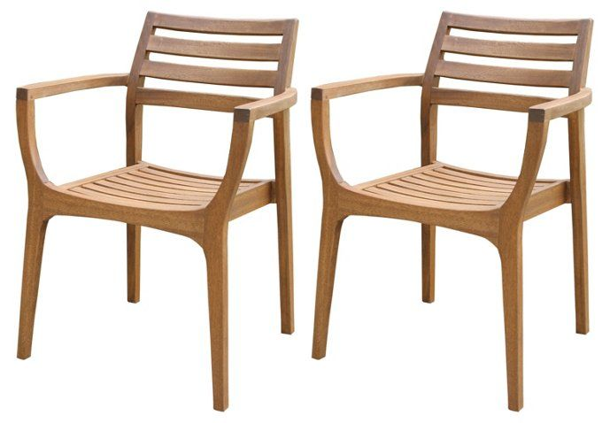 S 4 Danish Stacking Chairs Brown Outdoor Dining Furniture Outdoor Furniture Stylish Outdoor Furniture Outdoor Dining Furniture Outdoor Furniture Chairs