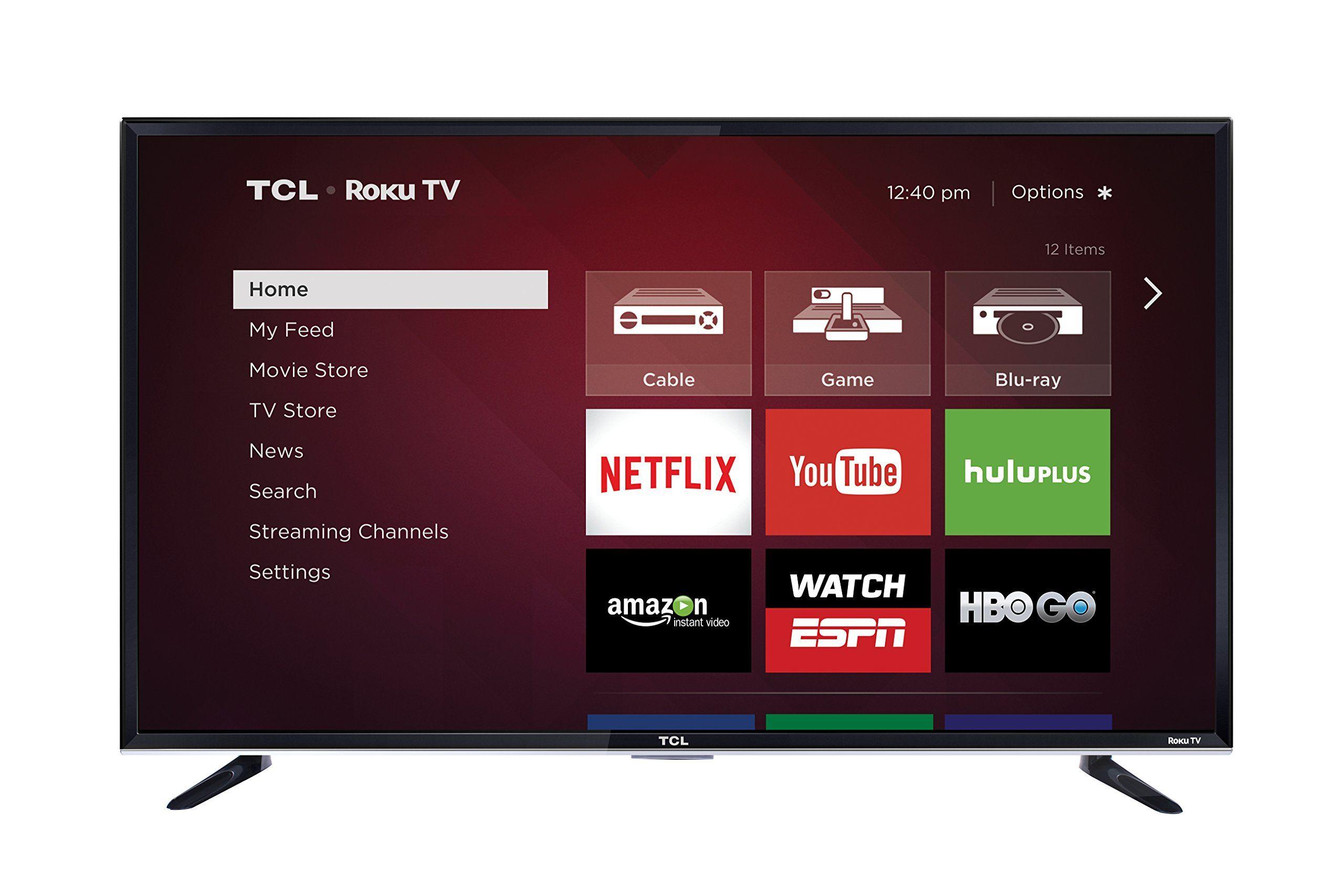 TCL 50FS3800 50Inch 1080p Roku Smart LED TV (2015 Model